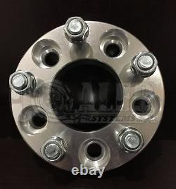 1x 1.25 Wheel Spacer 5x4.5 to 5x5 1/2X20 Studs Fits Ford Jeep Mercury Lincoln