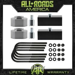 2 Front + Rear Full Lift Kit fits 1981-1996 FORD F-150 with 5/8 Stud Extenders