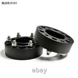 2 Inch Thick Wheel Spacers 6 Stud 4Pc fit Ford Ranger T4, T5, T6, T7, Wildtrak, XLT