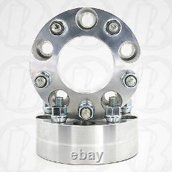 2 USA MADE 5x5.5 to 5x5.5 Wheel adapter 2 Spacer 1/2 Studs (Fits Ford E-150)