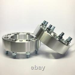 2pc 2.5 Hubcentric Wheel Spacers 8x170 14x2 Studs Fits F250 F350