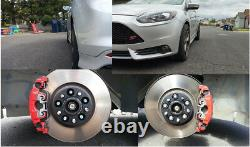 2pc 20mm 5 Lugs Aluminum Wheel Stud Spacers 5x108 fit Ford Focus ST Volvo