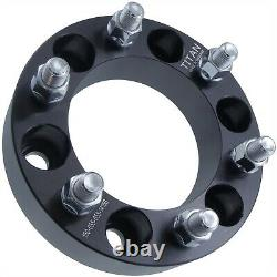 (4) 1.50 Wheel Spacers 1.5 12x1.5 Studs fits Chevy GMC HummerH3 Colorado Canyon