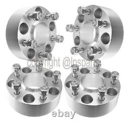 (4) 2 5x4.5 WHEEL SPACERS HUBCENTRIC fits 2015 + Ford Mustang Hub Centric GT