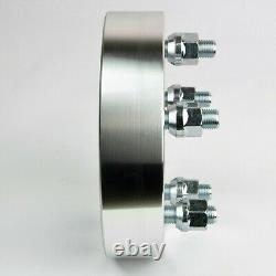 4 PCs 1.5 WHEEL SPACER ADAPTERS 5X135 to 5X4.5 CB 87.1 STUDS 14x2.0 Fit F150