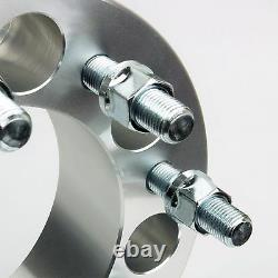 4 PCs Wheel Spacer Adapters 8x170 to 8x170 Studs 14x1.5 Thick 2 Fits Ford
