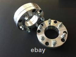 (4) Wheel Adapters 5x135 to 6x135 14X2 Studs 2.0 2 Inch Spacers