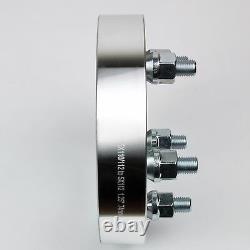 4PC 1.5 WHEEL SPACER ADAPTERS 5X135 / 5X5 TO 5X4.5 CB87.1 STUDS 12X1.5 Fit Jeep