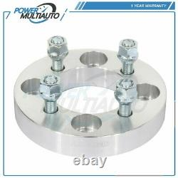 4X 4x108 to 4x100 1 Wheel Spacers 12x1.5 Fits Ford Focus Mustang Fiesta Mercury