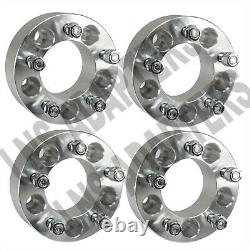 4pcs 2 5x4.5 Wheel Spacers (50mm) Fits Ford Mustang GT Boss Laguna Shelby GT500