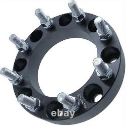 4pcs 8x170 Wheel Spacers 14x2 Coarse Studs 1.50inch 38mm Adapters Fits Ford
