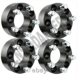 4pcs BLACK Wheel Spacers 2 fits Ford Mustang GT Boss Laguna Seca Shelby GT500