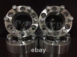 4x 1.5 6x135 14x2.0 Studs Wheel Spacers Fits Ford F-150 Lincoln Navigator