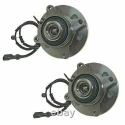 FRONT Wheel Hub Bearing Assembly FIT 2009-2012 FORD F-150 4WD 6 STUDS (PAIR)