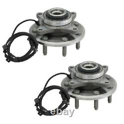 FRONT Wheel Hub Bearing Assembly Fit FORD F-150 4WD 7 STUDS 2011-2014 (PAIR)