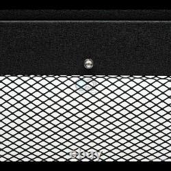 Fit 97-04 F150/Expedition Textured Blk Studded Mesh Bull Bar Bumper Grille Guard
