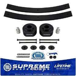Fits 81-96 Ford F150 4WD 2 Front + 2 Rear Suspension Lift Kit with 5/8 Stud Ext