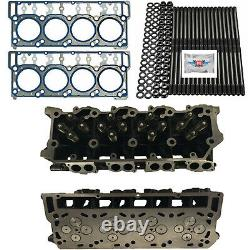 New 20mm Cylinder Heads Studs OEM Head Gaskets Fits Ford Powerstroke 6.0L