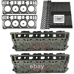 ORinged 18mm Cylinder Heads Studs Mahle Head Gaskets Fits Ford Powerstroke 6.0L