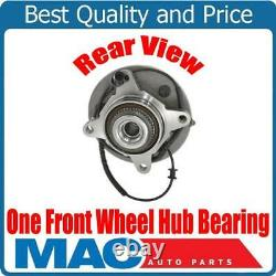 One Front Wheel Bearing Hub 4 Wheel Drive 2004 for Ford F150 6 Stud No Heritage