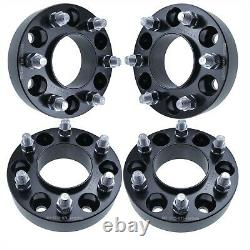 Set of 4 Hubcentric Wheel Spacers 6x135 87.1mm 14x2 Studs Fits Ford F-150