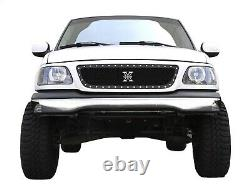 T-Rex Grilles 6715801 X-Metal Series Studded Mesh Grille Fits 99-02 F-150